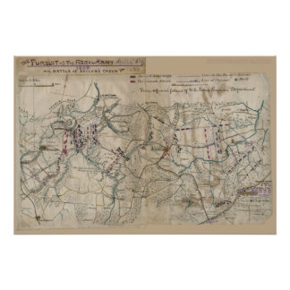 Civil War Battle of Sailor's Creek Poster