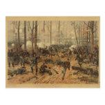 Civil War Battle of Shiloh by Thur de Thulstrup Post Cards