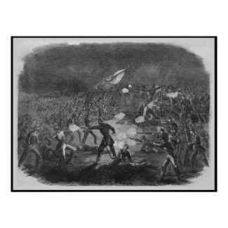 Civil War Battle print
