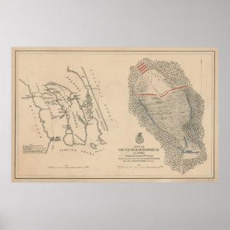 Civil War Battlefield of Roanoke Island Poster