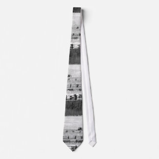 Civil War Battlefield Photo | Cannons B&W Neck Tie