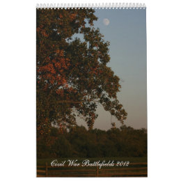 Civil War Battlefields 2012 Calendar