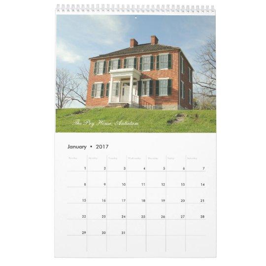 Civil War Battlefields 2012 Calendar