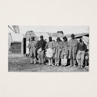 Civil War, Black Teamsters Business Card