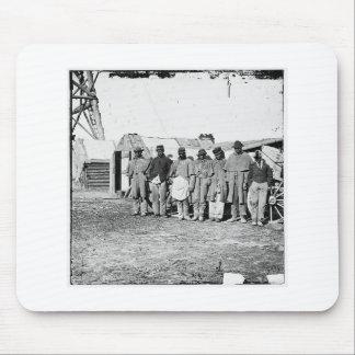 Civil War, Black Teamsters Mouse Pad