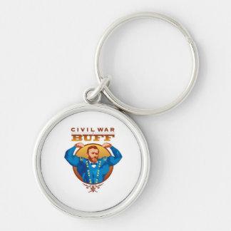 Civil War Buff Keychain