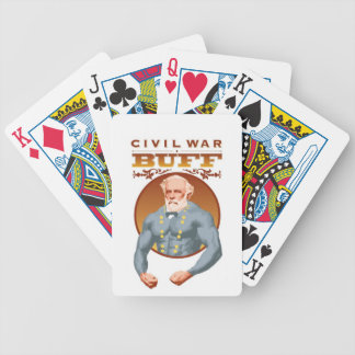 CIVIL WAR BUFF PLAYING CARDS--General Lee Bicycle Playing Cards