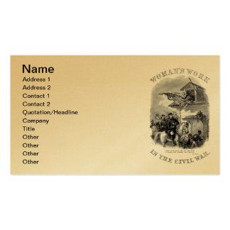 Civil War Business Card