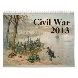 Civil War Calendar - 2013