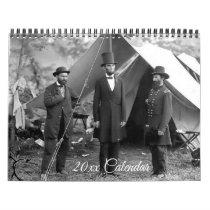Civil War Calendar President Lincoln