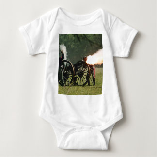 Civil War Cannon Baby Bodysuit