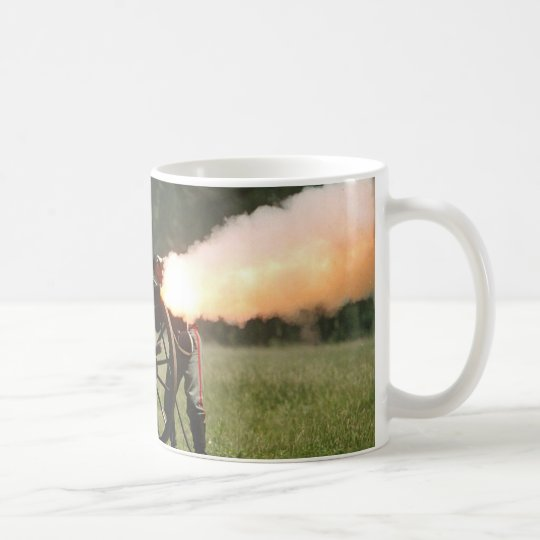 Civil War Cannon Coffee Mug