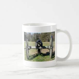 Civil War Cannon Mugs