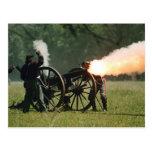 Civil War Cannon Post Card
