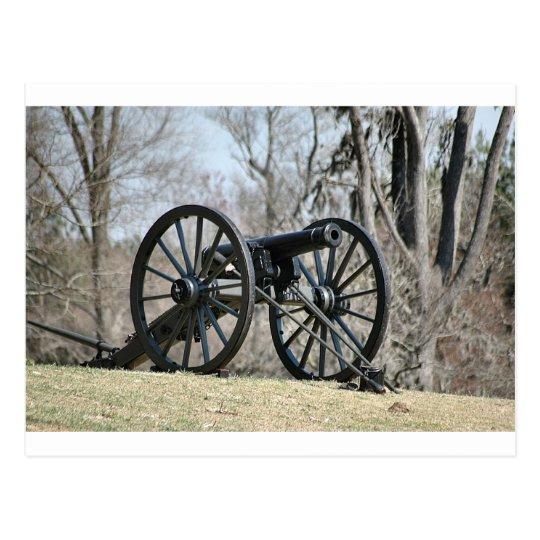 Civil War Cannon Postcard