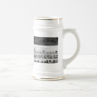Civil War Cannons Photograph Beer Stein