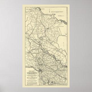 Civil War Cavalry Raid Poster