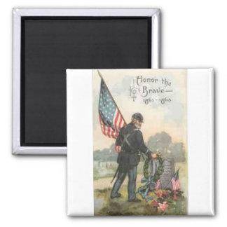 civil war cemetery magnets