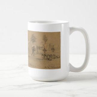 Civil War Commissary Coffee Mug