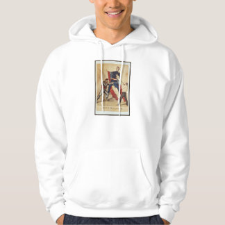 Civil War Death of Colonel Ellsworth Currier Ives Hooded Pullovers