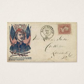 Civil War Envelope #2 Business Card