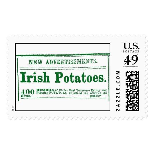 Civil War-era Irish Potatoes classified newspaper  Postage