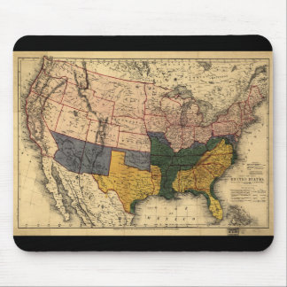 Civil War Era Map of the United States (Jan 1864) Mouse Pad