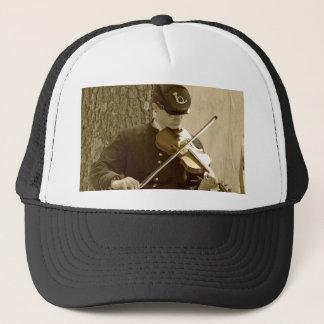 Civil War Fiddle Player Trucker Hat