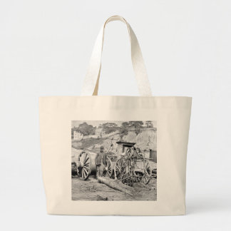 Civil War Fire Engine, 1865 Tote Bags