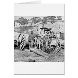 Civil War Fire Engine, 1865 Greeting Card