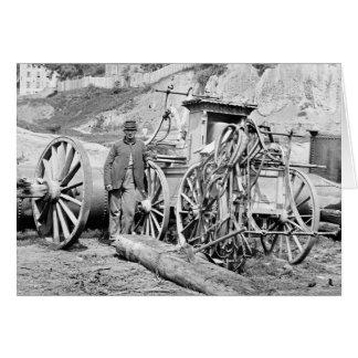 Civil War Fire Engine, 1865 Card