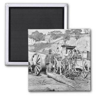 Civil War Fire Engine, 1865 Magnet