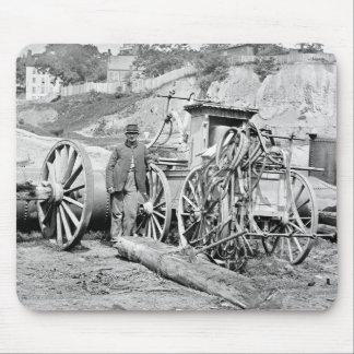 Civil War Fire Engine, 1865 Mouse Pad