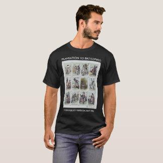 CIVIL WAR: from plantation to battlefield T-Shirt