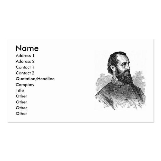Civil War General Business Card