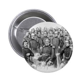Civil War Generals of the Union button