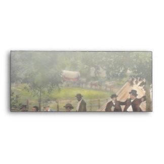 Civil War - Gettysburg camp of Captain Huft 1865 Envelope