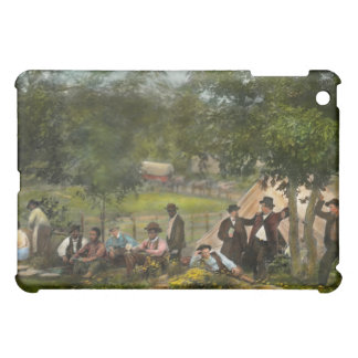 Civil War - Gettysburg camp of Captain Huft 1865 iPad Mini Covers