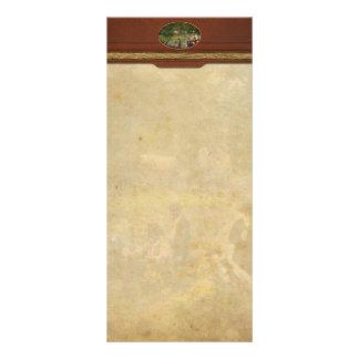 Civil War - Gettysburg camp of Captain Huft 1865 Rack Card