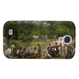 Civil War - Gettysburg camp of Captain Huft 1865 Samsung S4 Case