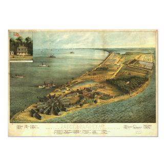 Civil War Hammond General Hospital and Prison 1864 Card
