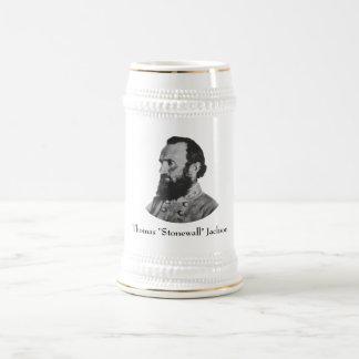 Civil War Hero -- General Stonewall Jackson Beer Stein