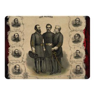 Civil War Heroes Card