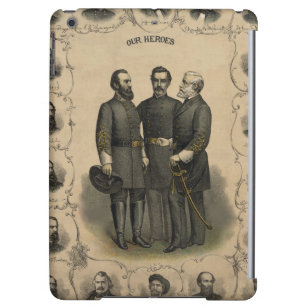 Civil War Heroes Cover For iPad Air