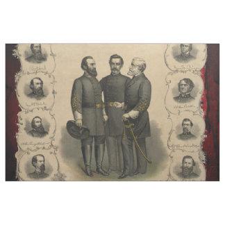 Civil War Heroes Fabric