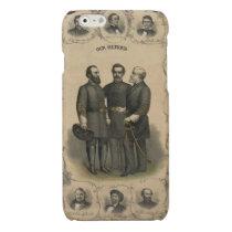 Civil War Heroes Glossy iPhone 6 Case