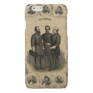 Civil War Heroes Glossy iPhone 6 Case