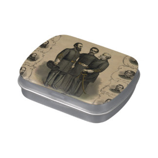 Civil War Heroes Jelly Belly Tins