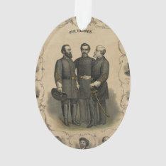 Civil War Heroes Ornament at Zazzle