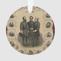 Civil War Heroes Ornament at Zazzle